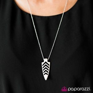 Paparazzi earrings and necklace set